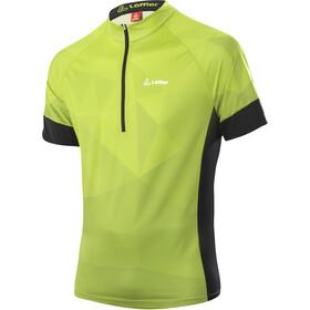 Löffler Rocks Half-Zip Bike Shirt Men, light green